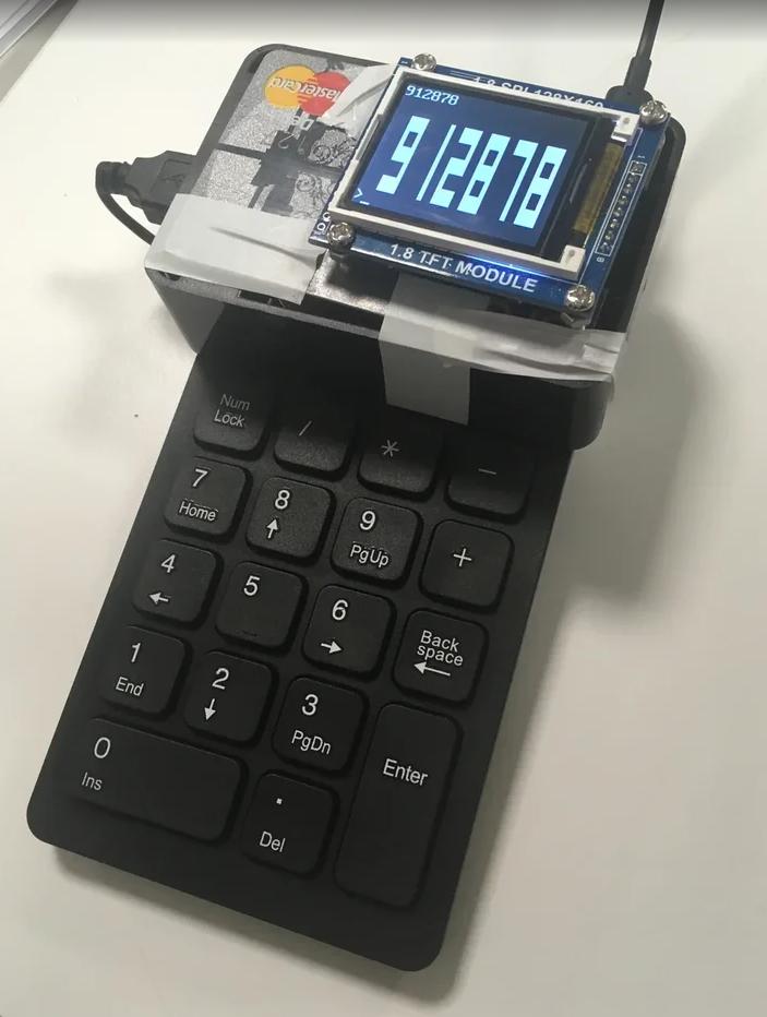 2FA Device from Scrap