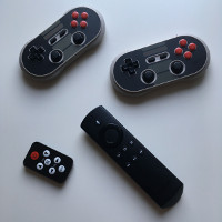 Fire TV Stick + RetroArch + 8bitdo NES30 Pro -