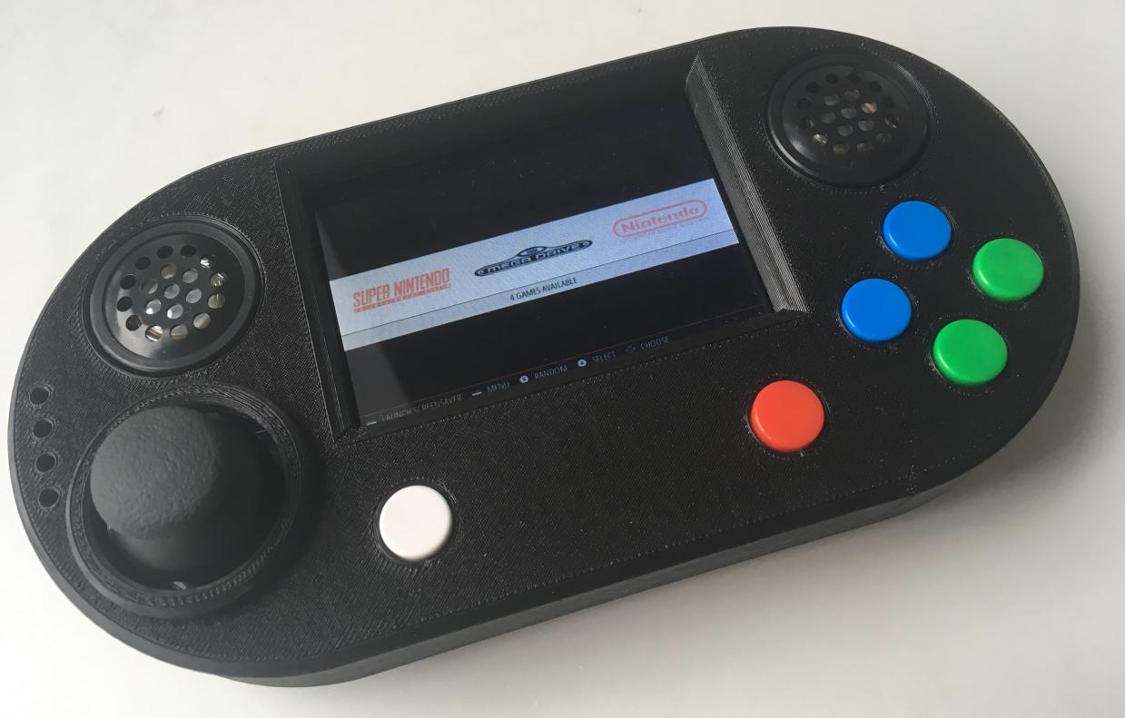 Gamehat 3D printed case